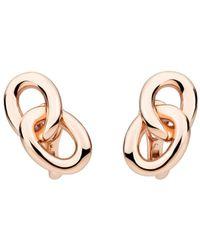 Pomellato - Tango Earrings In 18k Rose Gold - Lyst