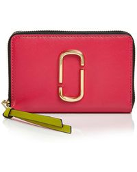 Marc Jacobs - Snapshot Standard Small Leather Wallet - Lyst