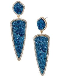 BaubleBar | Moonbeam Drop Earrings | Lyst