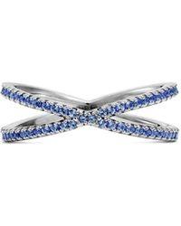 Michael Kors - Custom Kors Sterling Silver Pavé Nesting Ring Insert - Lyst