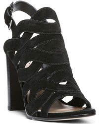 Via Spiga - Galore Cutout High Heel Slingback Sandals - Lyst