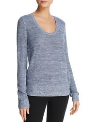 Theory - Scoop Neck Sweater - Lyst