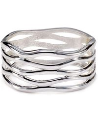 Robert Lee Morris - Open-weave Bangle - Lyst