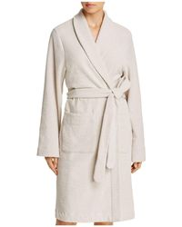 Hanro - Plush Wrap Robe - Lyst