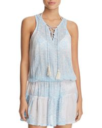 Cool Change - Tessa Tunic Swim Cover-up - Lyst