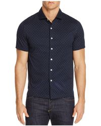 Haspel - Basin Micro-print Classic Fit Button-down Shirt - Lyst