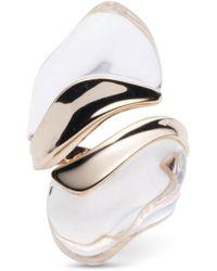 Alexis Bittar - Liquid Lucite Sculptural Ring - Lyst