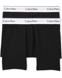 Calvin Klein - Modern Cotton Stretch Boxer Briefs - Pack Of 2 - Lyst