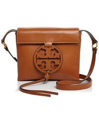 Tory Burch - Miller Soft Leather Crossbody Bag - Lyst