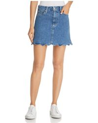 Joe's Jeans - Bella Denim Skirt In Kenzy - Lyst