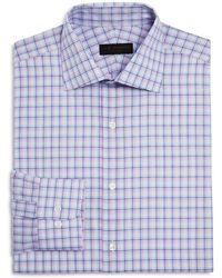 Ike Behar | Check Regular Fit Dress Shirt | Lyst