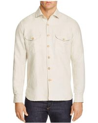 Haspel - Jackson Linen Classic Fit Button-down Shirt - Lyst