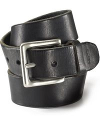 Ralph Lauren | Polo Distressed Leather Belt With Westened Buckle | Lyst