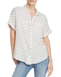Splendid - Star - Print Button - Down Shirt - Lyst