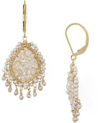 Dana Kellin - Tasseled Teardrop Drop Earrings - Lyst