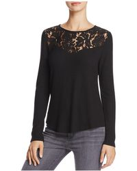 Generation Love - Ainsley Cutout Lace-trim Top - Lyst
