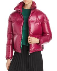 Moncler Synthetic Idra Padded Down Jacket in Blue Lyst
