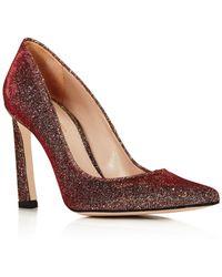 Stuart Weitzman - Women's Chicster Metallic Lamé High-heel Pumps - Lyst