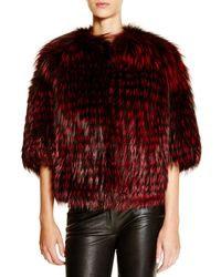 Maximilian - Michael Kors For Maximilian Feathered Saga Fox Coat - Lyst