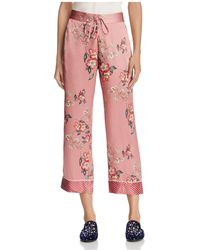 Joie - Reeda Pajama-style Flared Trousers - Lyst