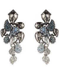 Alexis Bittar - Crystal Ombre Paisley Earrings - Lyst