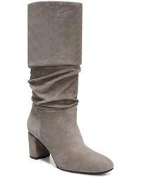 Via Spiga - Women's Naren Suede Tall Slouch Boots - Lyst
