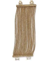 ABS By Allen Schwartz - Call Of The Wild Ball Chain Bracelet - Lyst