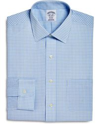 Brooks Brothers - Double Windowpane Check Regular Fit Dress Shirt - Lyst