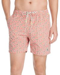 fd582c035e2fd Psycho Bunny - Square Swim Trunks - Lyst