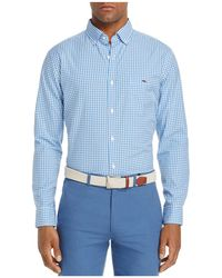 Vineyard Vines - Seafloor Tucker Gingham Classic Fit Button-down Shirt - Lyst