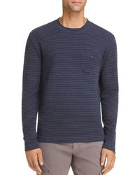Michael Bastian - Striped Knit Crewneck Shirt - Lyst