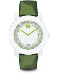 Movado Bold - Green Watch With Sunray Dial, 36mm - Bloomingdale's Exclusive - Lyst