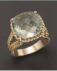 Bloomingdale's - 14k Yellow Gold Prasiolite Ring - Lyst
