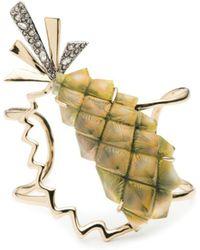 Alexis Bittar - Pineapple Cuff Bracelet - Lyst
