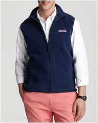 Vineyard Vines - Fleece Harbor Vest - Lyst