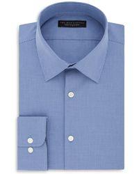 Bloomingdale's - Micro Check Regular Fit Dress Shirt - Lyst