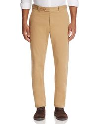 Bloomingdale's - Tailored Fit Chinos - Lyst