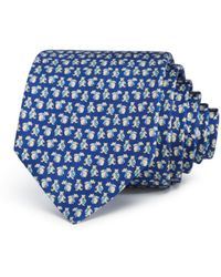 Ferragamo - Bears With Neckties Silk Classic Tie - Lyst