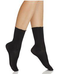 Hue - Luster Ruffle Socks - Lyst