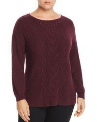 Lucky Brand - Mixed-knit Jumper - Lyst