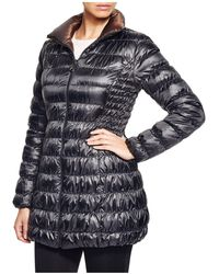 Laundry by Shelli Segal - Reversible Packable Puffer Coat - Lyst