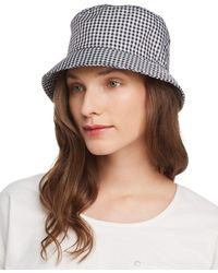 Rag & Bone - Ellis Gingham Bucket Hat - Lyst