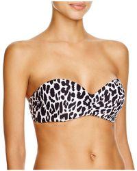 Carmen Marc Valvo - Bandeau Bikini Top - Lyst