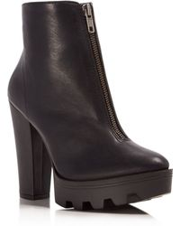 MIA - Nata High Heel Platform Booties - Compare At $79 - Lyst