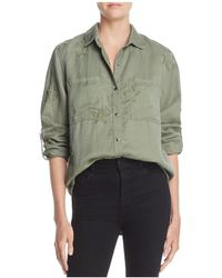 Rails - Marcel Star Embroidered Utility Shirt - Lyst