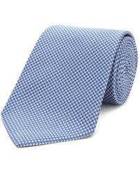 Turnbull & Asser - Basic Houndstooth Classic Tie - Lyst