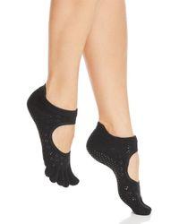 ToeSox - Sparkle Bellarina Full Toe Grip Socks - Lyst