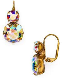 Sorrelli - Crystal Drop Earrings - Lyst