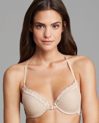 Natori - Feathers Front Close T - Back Bra - Lyst