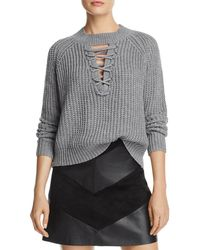 PPLA - Tanner Lace-up Jumper - Lyst